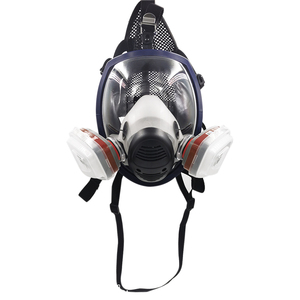 Image 5 - New Arrival Anti Gas Mask Chemical Industrial Painting Spraying Pesticides Respirator Filter Dust Full Face Mask Replace 3M 6800