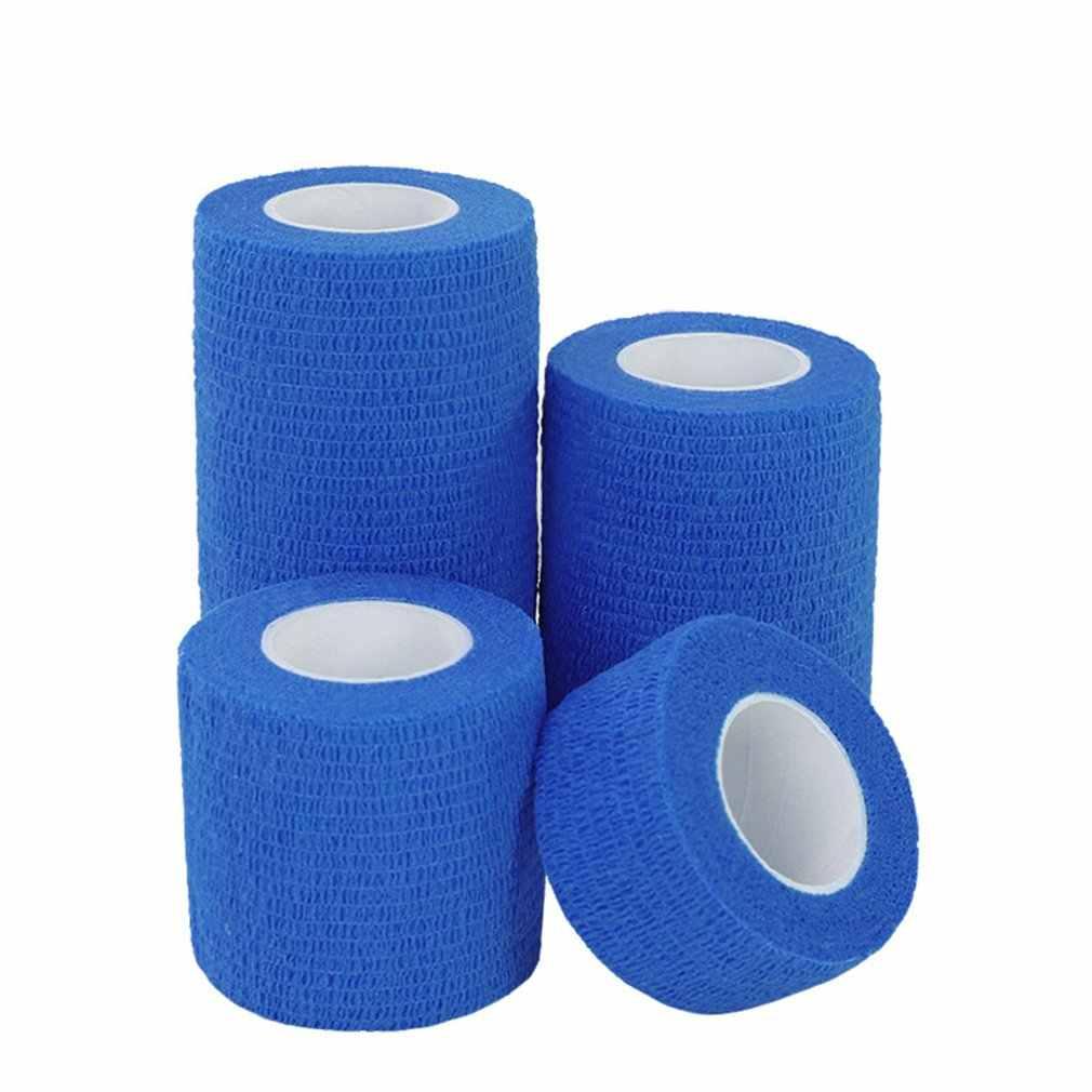 Sport Selbstklebende Elastische Bandage Wrap Band Hansaplast Für Knie Unterstützung Pads Finger Knöchel Palm Schulter