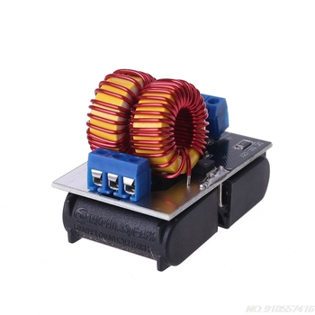 120W DC 5V~12V Mini ZVS Induction Heating Board Flyback Driver Heater Coil DIY Heating Plate without Cooling Fan D09 20 Dropship
