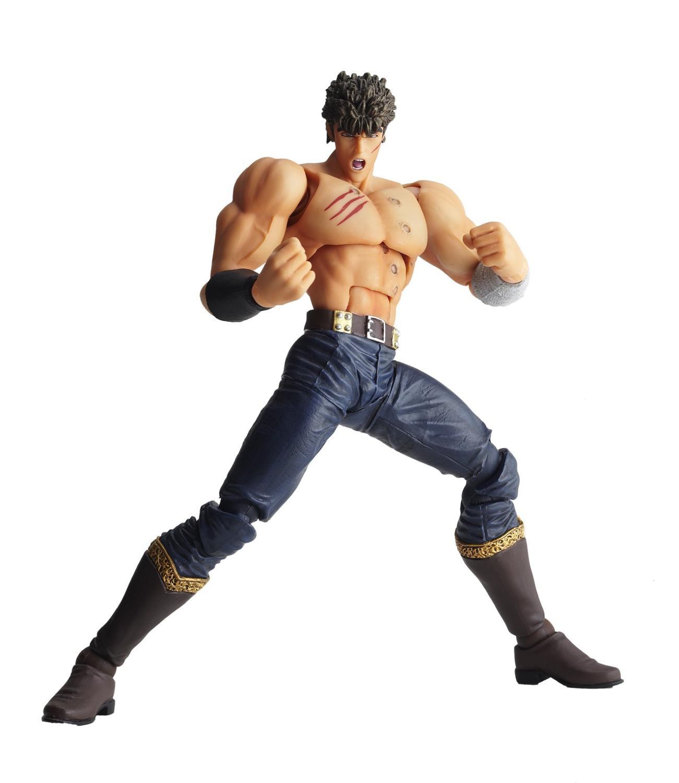 KAIYODO Hokuto No Ken Fist Of The Nort 011 LR-039 Kenshiro Wife Luria The Last Battle Action Figure Anime Toys Figure Gift