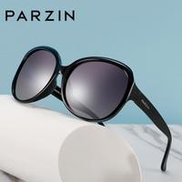 PARZIN Oval Women Polarized Sunglasses Fashion Designer Big Size Frame All match Glasses Quality Polarizing Lenses For Driving