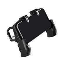 Orijinal Metal Pubg denetleyici Joystick Pubg Mobile için tetik Gamepad iPhone Android telefon için çekim oyunu