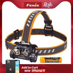 Fenix HM65R 1400 Lumen Dual Beam USB Rechargeable Headlamp with Spotlight and Floodlight