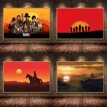 Classic Game Oil Canvas Painting Posters And Prints Wall Art Picture Abstract Decorative Home Decor