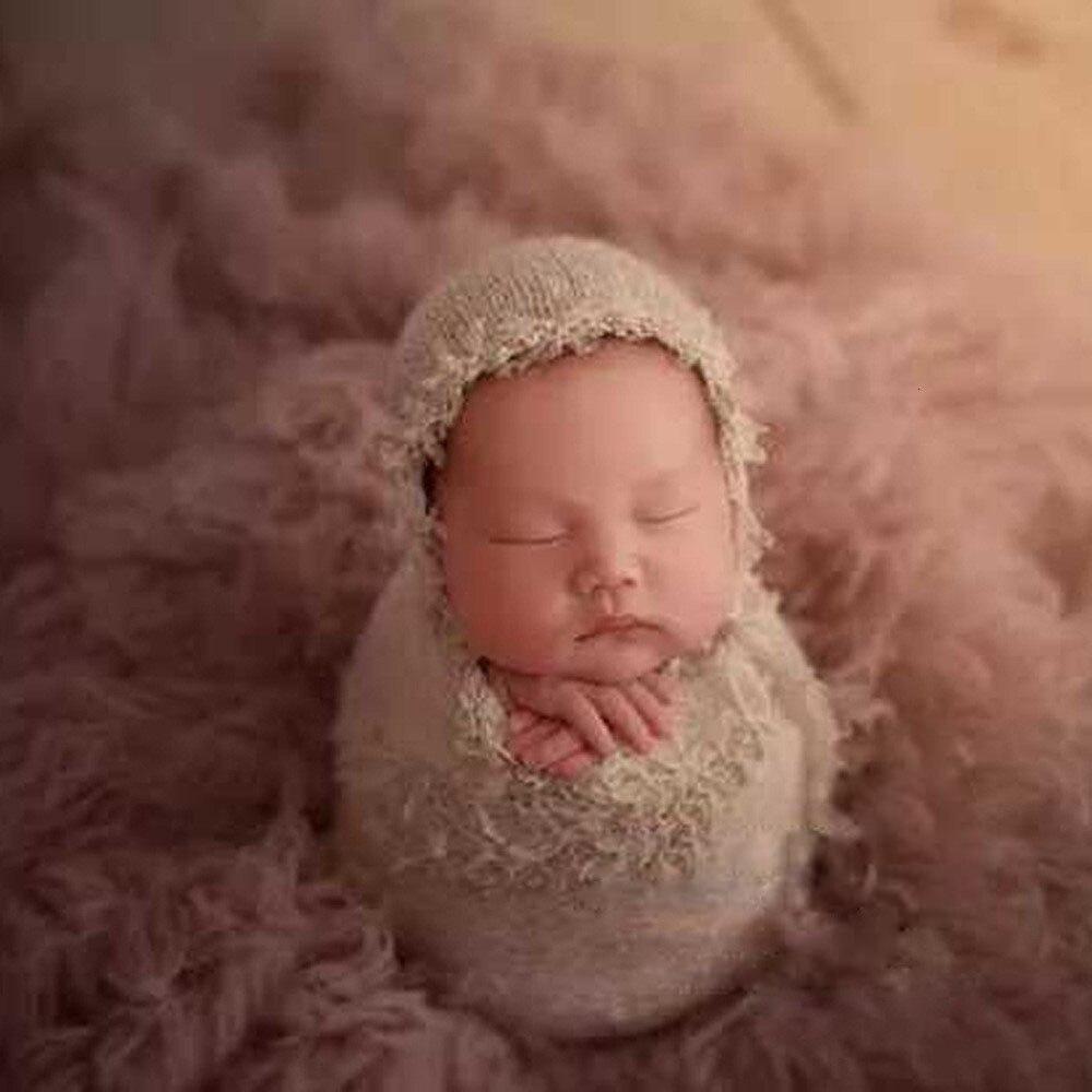 + conjunto envoltório do bebê foto adereços