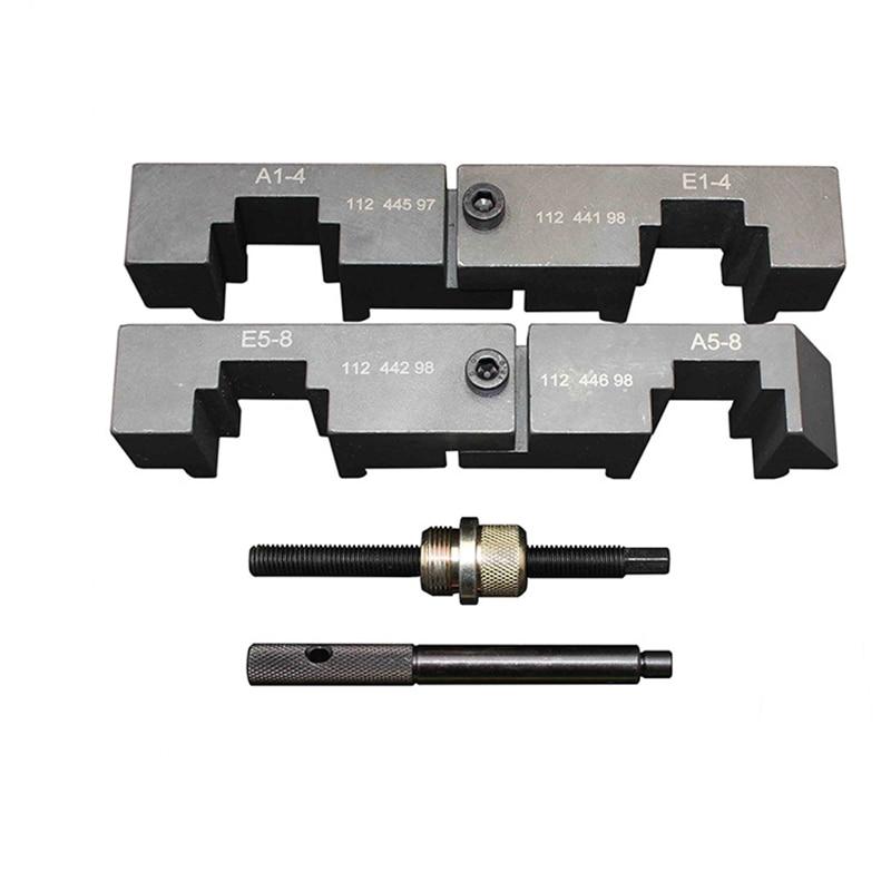 4PCS Camshaft Locking Tool For BMW M60 M62 M62TU V8 Engine Timing Tool Kit