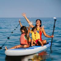 Blue Inflatable Surfboard 10.5'x30 X6 Surfboard Stand Up Paddle Surfing Board Water Sport Sup Board + Pump Safety Rope Tools Ki