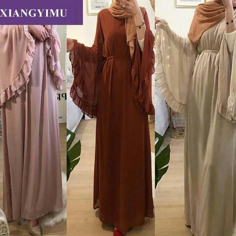 LR238 luxe haut de gamme paillettes Dubai femmes musulmanes abayas (pas de hijab pas de robe intérieure)