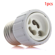 E27 To GU10 Replacement Lighting Fireproof Home Accessories Led Plastic Convert Easy Install Bulb Adapter(China)