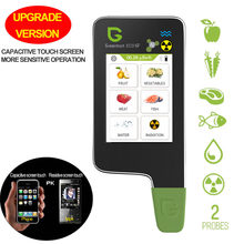 Greentest ECO-6F Digitale Voedsel Nitraat Tester Concentratie Meter Analyzer Vis/Fruit/Groente/Vlees/Water Hardheid/ stralingen