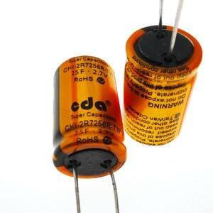 Image 5 - 3 個 cda 2.7V25F 2.7 v 25F ファラッドのコンデンサ交換可能なバッテリー CHV 2R7256R TW