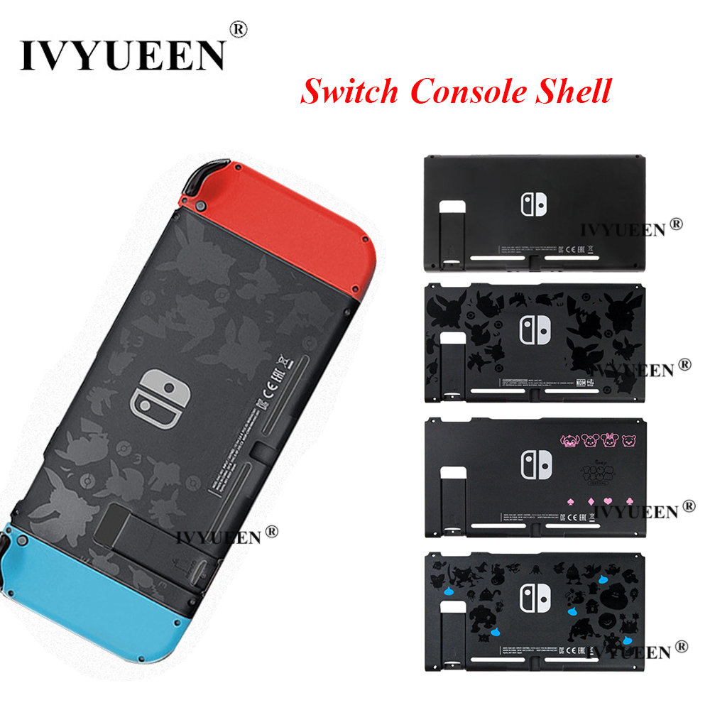 IVYUEEN For Nintend Switch NS Console Replacement Housing Shell Case For NintendoSwitch Controller Front Back Faceplate Cover
