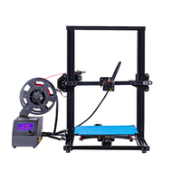 3D Printer Chiron Ultrabase Extruder Largest Nozzle Pro Open Build Upgrade Large Printing Area Open Build Aluminium Frame