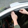 Автомобильная дверь уплотнение полосы наклейки Анти-пыль звукоизоляционные уплотнения DIY 1 метр Резина B Тип шумоизоляция авто аксессуары д...