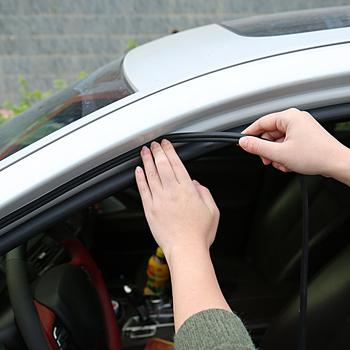 Uszczelka do drzwi samochodowych naklejki przeciwpyłowe dźwiękoszczelne uszczelnienie DIY 1 metr guma B typ izolacja akustyczna akcesoria do wnętrz samochodowych tanie i dobre opinie QCBXYYXH Kaptur Drzwi samochodu Lampa tylna Pokrywa Trunk Gumy EPDM Izolacja akustyczna Taśma PY235