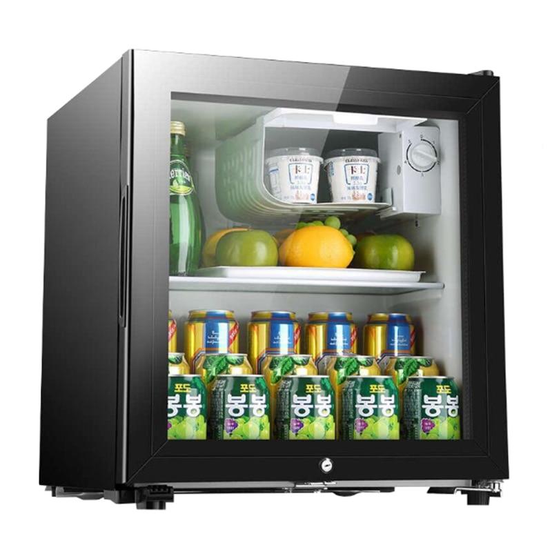 냉장고 90L мини одна дверь холодильник супер емкость ледяной бар холодильное микро замораживания офиса отель бытовой изысканный 220V 3