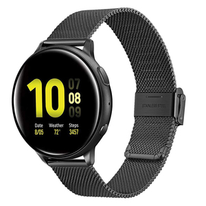 Milanese Loop Strap for Samsung Galaxy Watch Active 2 Bracelet 20mm 22mm Band for Galaxy watch 46mm Gear S3 Frontier Amazfit Bip