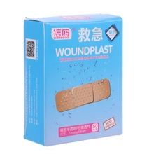 50Pcs Adhesive Bandages Hemostasis First Aid Disposable Wound Plaster Medical