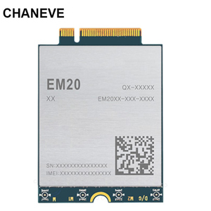 Global 4G Band EM20-G M.2 CAT20 LTE-A Module 2Gbps(DL) 150M(UL) 4x4 MIMO 4G+ Modem Module For Broadband M2M and IoT Applications(China)