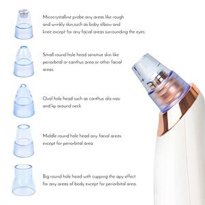 Image 3 - Gesicht Nase Akne Schwarz Dot Pickel Mitesser Entferner Elektrische Mitesser Vakuum Reiniger Pore Mitesser Haut Pflege Werkzeuge Maschine