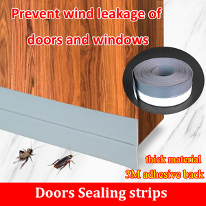 Sealing Strip door and window Windproof Silicone Self-Adhesive Soundproof dustproof door seam Silicon Rubber