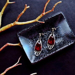 Image 4 - DreamCarnival 1989 Delicate Feminine Red Earrings  for Women Water AAA Drop Zirconia Holiday Christmas 2020 New Year Gift WE3988