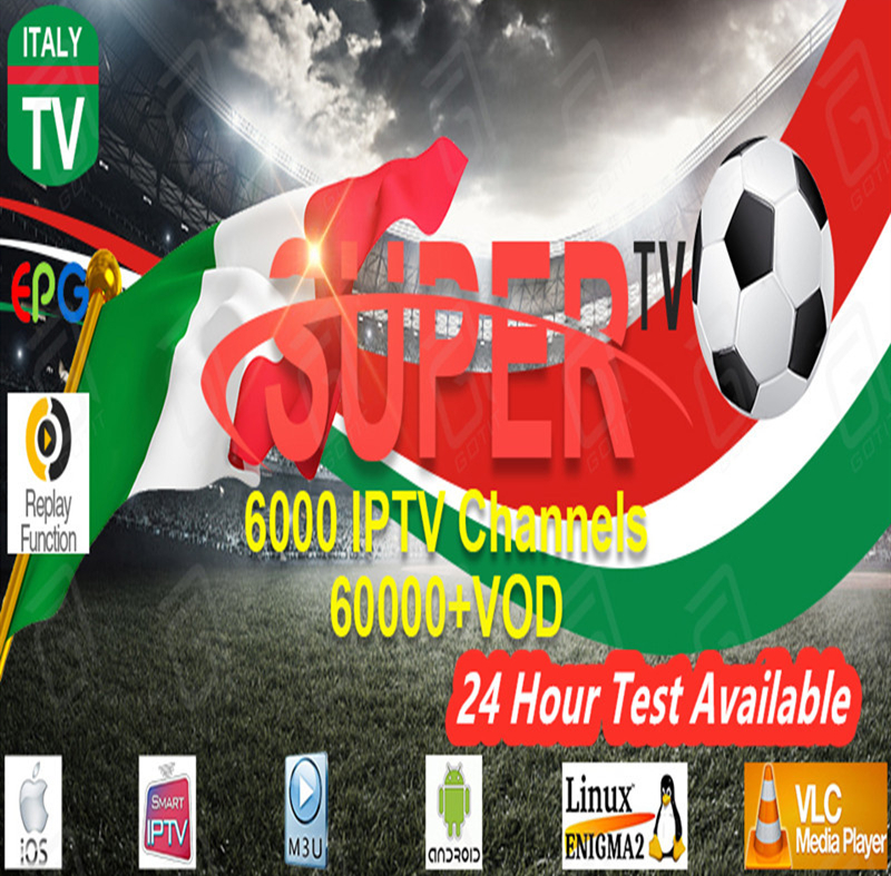 Italy Super Iptv Adult Subscription 10000+Live&VOD Germany Albania Turkey M3U Android Enigma2 Subscription Smart TV Box
