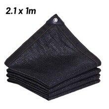 Shading Rate 85% Sunblock Shade Net Anti-UV Sunshade Net Black HDPE Outdoor Plant Cover