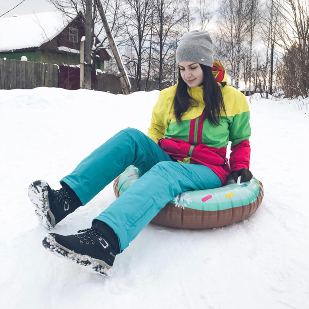 Ski Pad Durable Cute Appearance Children Adult Skiing Boards Sled Snow Tube Snow Tire Slippery Snowboard Winter Sports