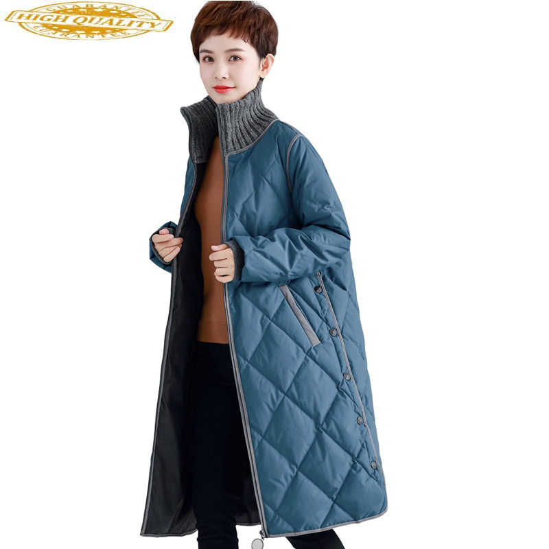 Winter Jacket Women 90% Duck Down Jacket Women Clothes 2019 Female Korean Long Coat Plus Size Parka Abrigo Mujer MY1486