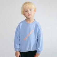 Childrens  Wear 2019 Fall Winter New Korean Round Neck Long Sleeve Mens Fashion boys long sleeve tops