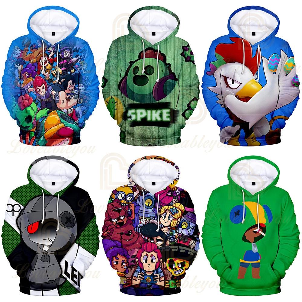 Hot Sale Adult/Children Hoodies Clothing Game 3d Print Hoodie Sweatshirt Boy/girl Casual Long Sleeve Clothes