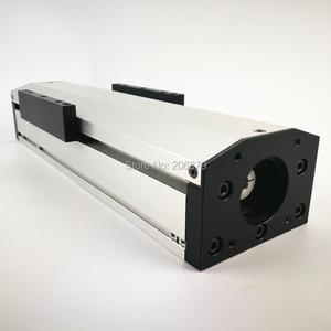 Image 5 - Бесплатная доставка, эффективный ход 50 400 мм, шариковый винт 1204 1605 1610, герметичный пыленепроницаемый линейный направляющий рельсовый слайд, модуль CNC XYZ Aixs