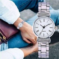 Vrouwen Horloges Luxe Roestvrij Stalen Riem Toevallige Horloge Genève Eenvoudige Quartz Horloge Gift Dames Horloges 2020