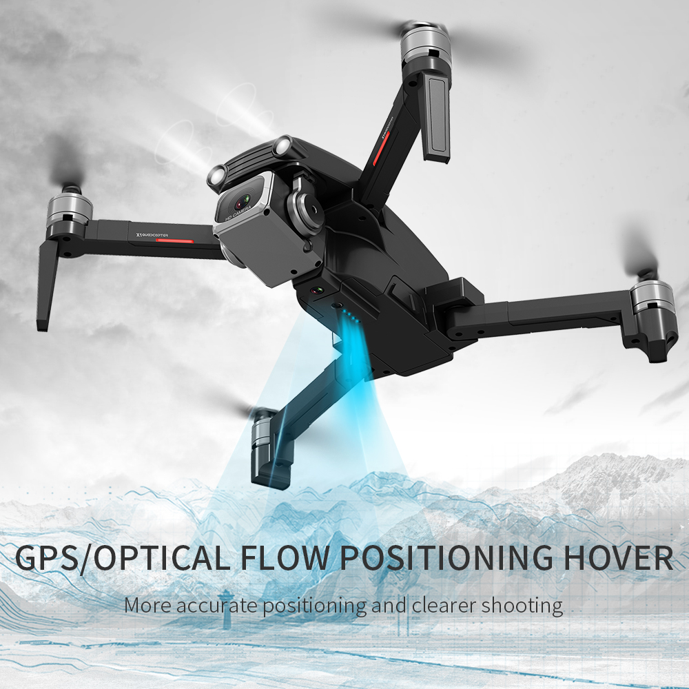 GPS RC Drone X1-S PRO Quadcopter 5G WiFi FPV 4K HD ESC Camera Brushless Helicopter 25mins Flight Time  VS F11 SG906