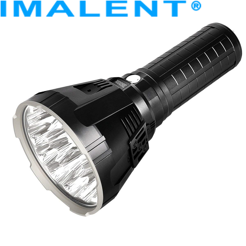Flashlight Outdoor-Torch 36000 Rechargeable Imalent R90ts XHP35 Lumens CREE Leds