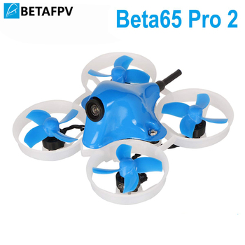 Beta65 Pro 2 2S Brushless Whoop Drone with 2S F4 AIO FC 5A ESC 25mW Z02 Camera 35 Degree OSD Smart Audio 17500KV 0802 Motor