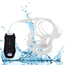 Newest Mini FM Radio 8GB IPX8 Waterproof MP3 Music Player Swimming Diving Earphone Headset Sport Stereo Bass Swim MP3 with Clip