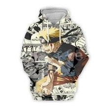 Tessffel Cartoon Anime Naruto Harajuku casual Tracksuit 3D Pullovers Print Hoodie/Sweatshirt/Jacket/shirts Mens Womens funny s14