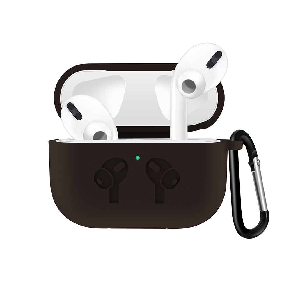 Silicone Case with Anti Lost Buckle for AirPods Pro 1