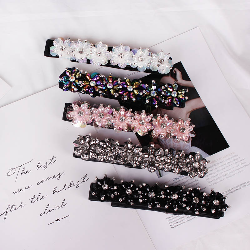 Fashion Elastic Tight Crystal Lady's Belt Dress Decorative Water Diamond Slender Waist Seal And Ribbon Set-in Dress Belt