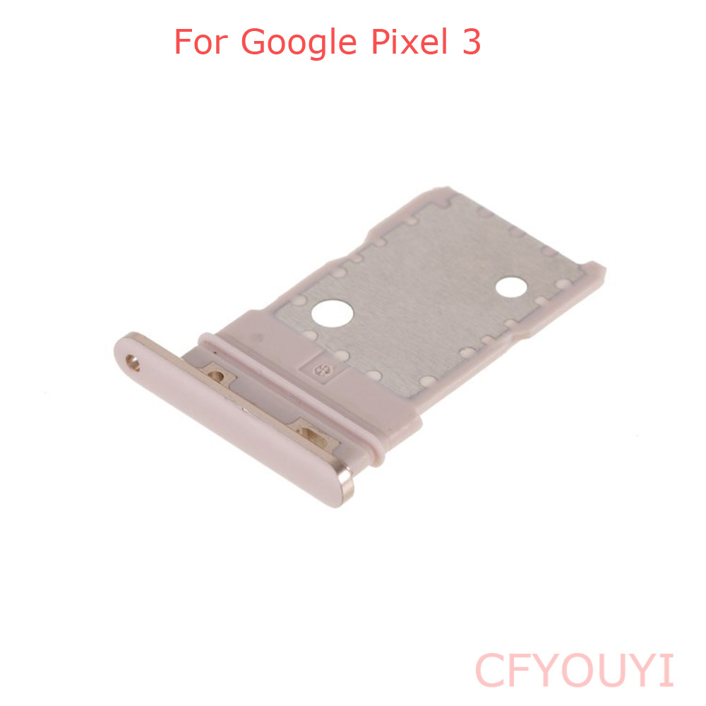New SIM Card Tray Holder Slot Replacement Parts For Google Pixel 3
