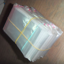 6x11cm 200Pcs Clear Plastic Bags Self Adhesive Seal Jewelry Gift Package Bag(China)