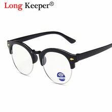 Классические Полуободковые очки с защитой от синего света детские