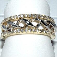 Новая мода Крест Кристалл Кольца для женщин ювелирные изделия Серебряное кольцо на палец Женское Обручальное кольцо женские обручальные кольца Femme подарки