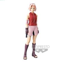 Tronzo Banpresto en PVC, jouets modèles originaux 26cm Grandista Shinobi Relations Naruto Shippuden Haruno Sakura