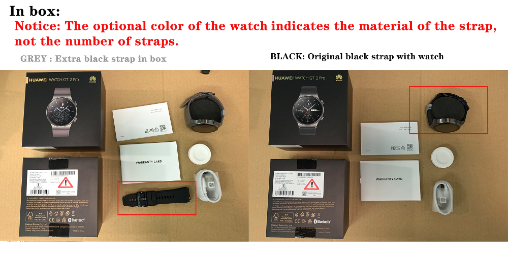 HUAWEI Watch GT 2 pro Smart Watch Unpack