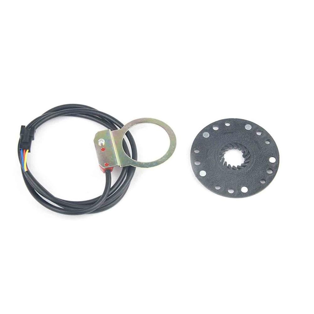 Kit de Conversion électrique en plastique vélo Scooter pédale Assistant capteur 5 aimant facile à installer et à utiliser