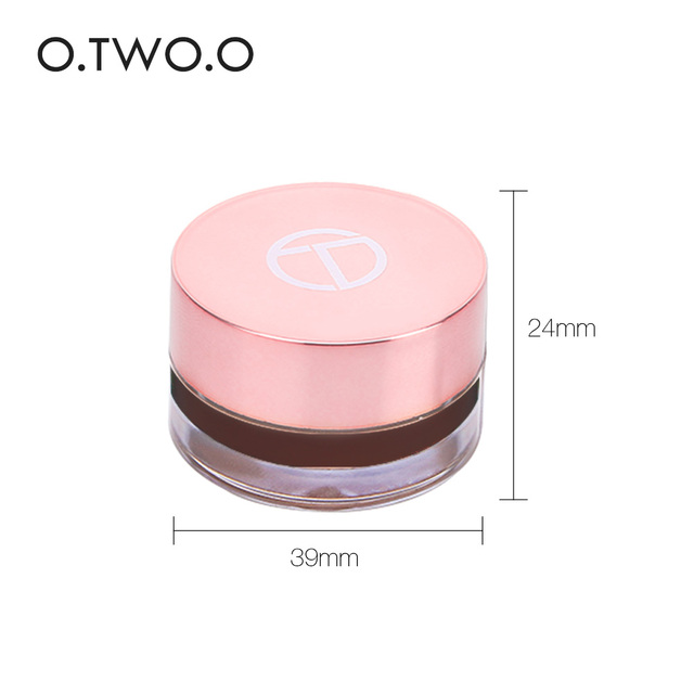 O.TWO.O Eyebrow Gel 6 Colors 3D Natural Brown Eye Brow Shade Make Up Profesional Long Lasting Brow Paint Cosmetics With Brush 4