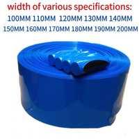 1 meter Heat-Shrinkable Sheath PVC heat shrinkable tube 18650 26650 lithium battery skin package shrink sleeve insulation